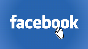 Facebook Logo Mit Mouse Over Hand